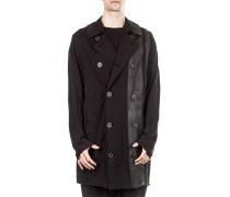 Dip Herren Jersey Mantel Print schwarz