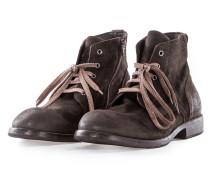 Herren Leder Ankle Boot MARTENS ROCCIA braun