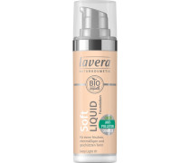 Make-up Gesicht Soft Liquid Foundation Nr. 02 Ivory Nude