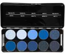 Shadow Profi Set - Bleu Up Enthält folgende Lidschattenfarben 39c; 43c; 44c; 60c; 66c; 67c; 68c; 69c; 70c; 71c