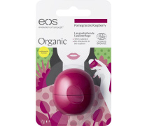 Pomegranate Raspberry Organic Lip Balm in Blisterverpackung