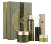 Rituale The Ritual Of Dao Geschenkset Be Kind To Your Skin Body Cream 200 ml + Foaming Shower Gel Mindful Scrub 125 Fragrance Sticks 50
