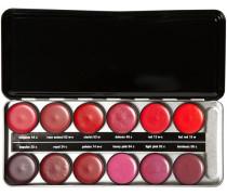 Make-up Lippen Lipstick Profi Set - Starlet Enthält folgende Lippenstiftfarben 02w-c; 03c; 04c; 06c; 13w-c; 14w-c; 16w; 24c; 25c; 44c; 48c; 53w