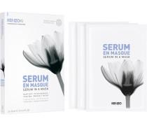 ki WEIßER LOTUS - Feuchtigkeitspflege Serum in a Mask 3 x