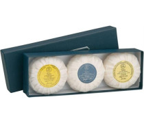 Herrenpflege Sandelholz-Serie Seifenset 1 x Avocado 100 g + Jojoba Chamomile