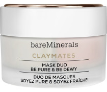 Feuchtigkeitspflege Claymates Mask Duo Be Pure & Dewy