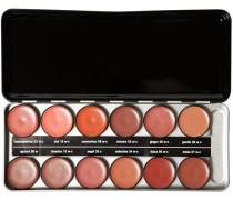 Make-up Lippen Lipstick Profi Set - Nude Enthält folgende Lippenstiftfarben 09w; 15w-c; 19w-c; 20c; 30w-c; 33w-c; 34w-c; 55w-c; 56w-c; 57w-c; 58w-c; 60w-c