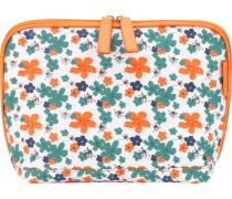 Kosmetiktasche Flower 24 cm Orange