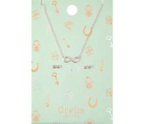 Schmuck Halsketten Infinity Schmuckset Ohrringe & Halskette