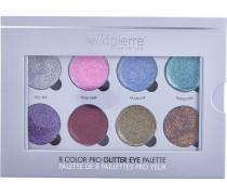 Make-up Augen 8 Color Pro Glitter Eye Palette