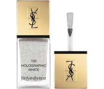Make-up Nägel The Holographics La Lacque Couture Nr. 105 Holographic White