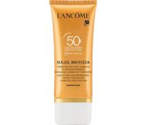 Sonnenschutzcreme Soleil Bronzer Dry Touch Visage SPF 50