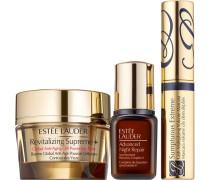 Pflege Augenpflege Geschenkset Revitalizing Supreme+ Global Anti-Aging Eye Balm 15 ml + Advanced Night Repair Serum 7 Sumptuous Extreme Mascara 2;8