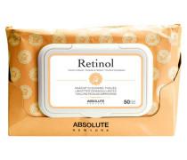 Gesichtspflege Make-up Cleansing Tissues Retinol