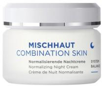 Gesichtspflege MISCHHAUT Nachtcreme