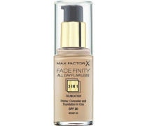 Make-Up Gesicht Face Finity 3-In-1 Foundation Nr. 30 Porcelain