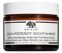 High-Potency Night-A-Mins Oilfree Resurfacing Cream With Fruit-Derived AHAs