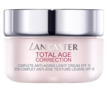 Pflege Total Age Correction Complete Anti-Aging Light Cream SPF 15