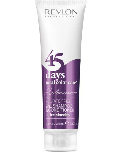 Revlonissimo 45 Days Shampoo & Conditioner Ice Blondes