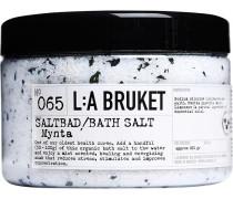 Kurbäder und Badesalze Nr. 065 Bath Salt Mint