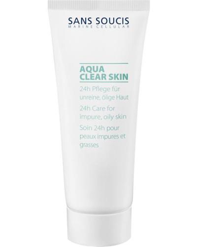 Pflege Aqua Clear Skin 24h für ölige Haut