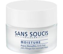 Pflege Moisture Aqua Benefits Anti-Age 24h für trockene Haut