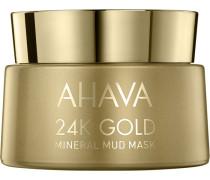 Gesichtspflege Mineral Mud 24K Gold Mask