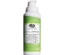 Masken By All Greens Foaming Deep Cleansing Mask With Green Tea; Spirulina And Spinach