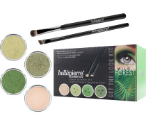 Make-up Sets Wild Forest Get the Look Kit Shimmer Powder Discoteque 2;35 g + g+ Reluctance Mineral Makeup Base 8;5 Liner Brush Oval Eyeshadow