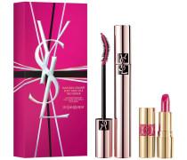 Geschenkset Mascara The Curler 6;7 ml + Mini Rouge Volupte Shine 49 1;4