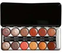 Make-up Lippen Lipstick Profi Set - Renaissance Enthält folgende Lippenstiftfarben 10w; 11w; 12w; 17w; 18w-c; 29w-c; 36w; 37w; 38w-c; 40w; 41w; 43w-c