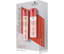 BC Bonacure Peptide Repair Rescue Spray Conditioner Duo Set