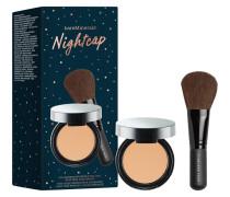 Finishingpuder Nightcap BareSkin Perfecting Veil Set Mini Medium 3;5 g + Full Flawless Face Brush