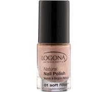 Make-up Nägel Natural Nail Polish Nr. 02 Deep Berry