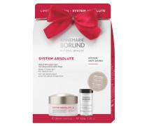 SYSTEM ABSOLUTE Nachtpflege Geschenkset Regenerierende Hachtcreme 50 ml + Enzym-Peeling 8;5 g