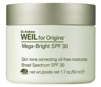 Feuchtigkeitspflege Dr. Andrew Weil for Mega-Bright Skin Tone Correcting Oil-Free Moisturizer SPF 30