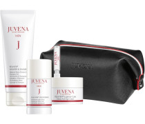Herrenpflege Rejuven Men Geschenkset Global Anti-Age Cream 50 ml + Deodorant 24h Effect 75 Moisture Boost Shower & Shampoo Gel 200 Recharge Essence 2;5