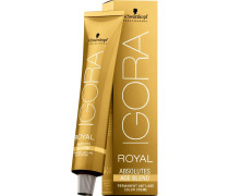 Haarfarben Igora Royal Absolutes Age Blend Permanent Anti-Age Color Creme 8-01 Hellblond Natur Cendré