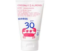 Coconut & Almond Baby Sunscreen SPF30