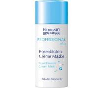 Pflege Professional Plus Rosenblüten Creme Maske