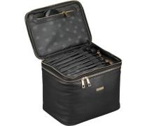 Kulturtasche Kulturbox Virgie; 27 cm Schwarz; ohne Inhalt