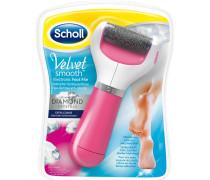 Fußpflege Hornhautentfernung Velvet Smooth Express Pedi Pink Edition Elektronischer Hornhautentferner