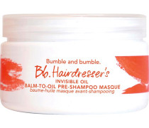 Shampoo & Conditioner Spezialpflege Hairdresser's Invisible Oil Balm-to-Oil Pre-Shampoo Masque