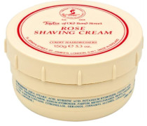 Herrenpflege Sandelholz-Serie Shaving Cream Rose