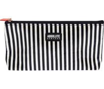 Kosmetiktasche Mono Stripe Satin Cosmetic Bag