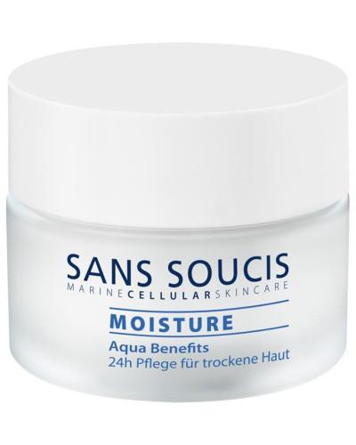 Pflege Moisture Aqua Benefits 24h für trockene Haut