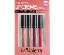 Make-up Lippen Kiss Proof Lip Cremes Quad 4 x