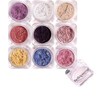 Make-up Augen 9 Stack Shimmer Powder Astrid