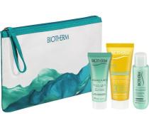 Biosource Travel Kit Lotion Tonifiante & Hydratante 24h 30 ml + Aquasource Gel 20 Lait Solaire SPF 40