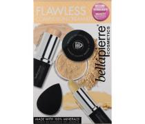Make-up Teint Flawless Complexion Cream Kit Full Coverage Foundation Stick Deep 10 g + Mineral Concealer Medium/Dark 3;5 Banana Powder 4 Mini Bella Blender